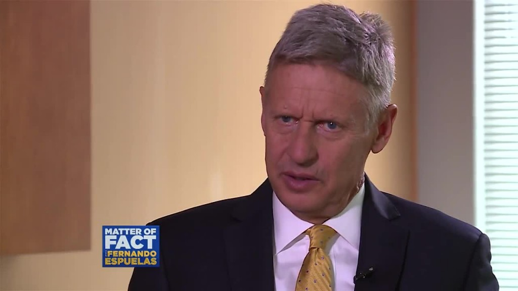 Gary Johnson says Most Americans are Libertarians