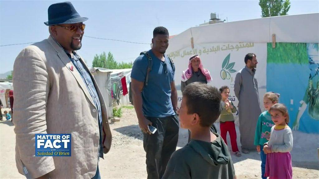 Baltimore Ravens Ben Watson on Trip to Refugee Camps in Lebanon